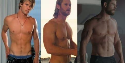 Bikin Meleleh! Ini Transformasi Badan Chris Hemsworth
