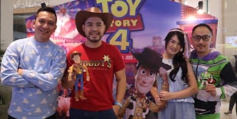 'Buzz' dan 'Woody' Turut Ramaikan Premier 'Toy Story 4'