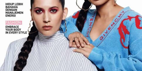Hannah Al Rashid & Andra Alodita Cover Oktober 2020