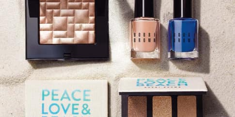 Cantik di Pantai Dengan Peace, Love & Beach Bobbi Brown