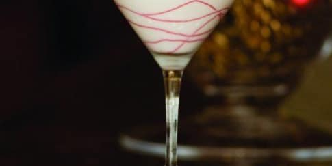 Cara Membuat Martini Permen Tongkat
