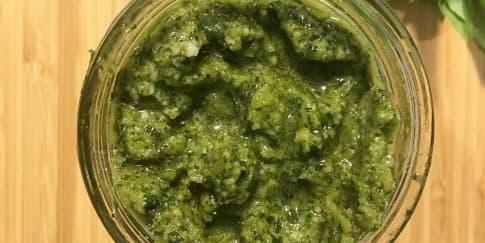 Cara Membuat Saus Pesto