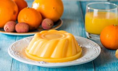 Cara Membuat Silky Pudding Rasa Jeruk untuk Tajil