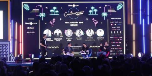 Creativepreneur Corner 2019 Tuai Sukses di Kota Medan
