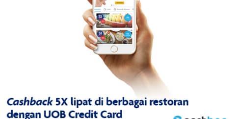 Dapatkan Keuntungan dari Kartu Kredit UOB dan Cashbac