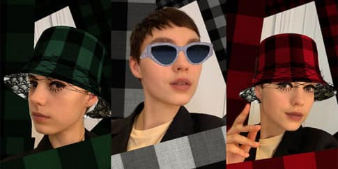 Dior Hadirkan Filter Instagram Stories 'Check'N'Dior'
