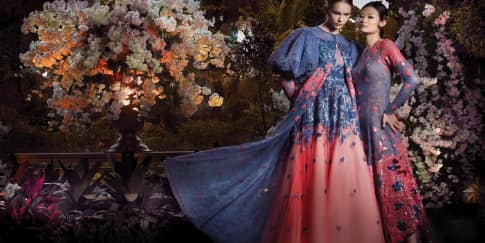 FOTO: 'Secret Garden' Inspirasi Gaya Aristokrasi Elegan