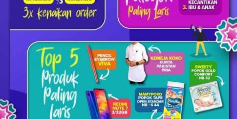 Fakta Seru Belanja Online di Ramadan 2019