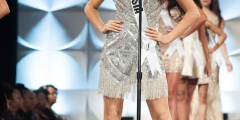 Frederika Cull Berhasil Raih Top 10 Miss Universe 2019