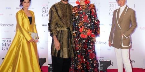 Gaya Busana Para Selebriti di 'Macan Gala 2019'
