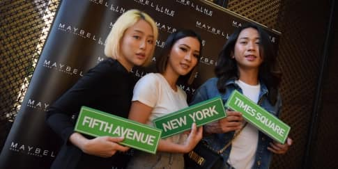 Gebrakan 'Maybelline Makers' di New York Fashion Week