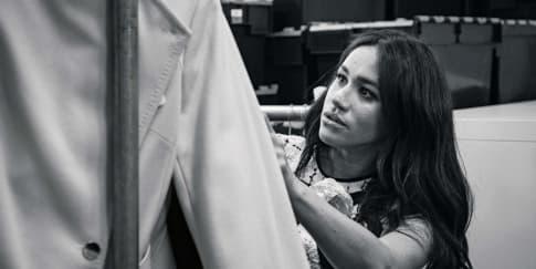 Gebrakan Meghan Markle Jadi Editor Tamu Vogue Inggris
