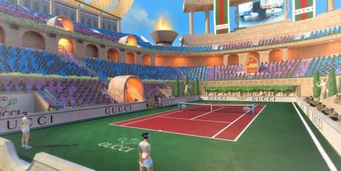 Gucci Berkolaborasi Dengan Game Tennis Clash