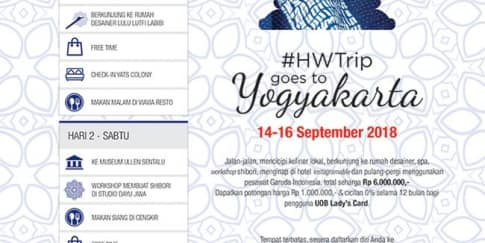 HW Trip Goes to Jogja