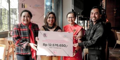 'HWShares', Donasi dan Aksi Peduli Kanker Payudara