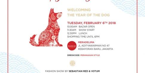 Hadiri Lady's Bazaar Seru Dalam Menyambut Tahun Anjing