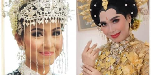 Hiasan Kepala Unik Dari Pernikahan Adat di Indonesia
