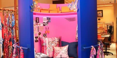 Hermes Mempersembahkan Instalasi Pink Room di Butik