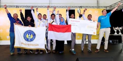 Indonesia Taklukan Shell Eco-marathon Asia 2018