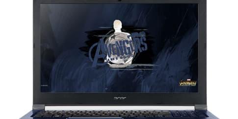 Ini Dia Laptop Acer Edisi Avengers: Infinity War