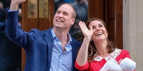 Ini Nama Bayi Ketiga Kate Middleton dan Prince William