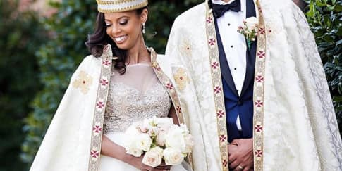 Intip Pernikahan Pangeran Ethiopia Joel Makonnen