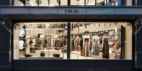 Intip Toko Pop Up Dior di Rue St Honoré