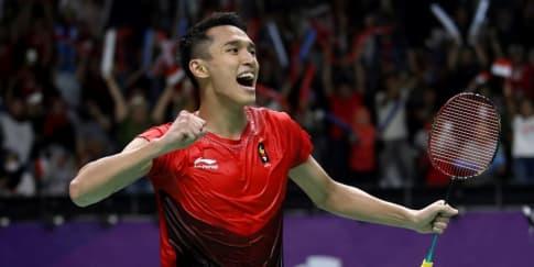 Jatuh Bangun Jonatan Christie Raih Emas di Asian Games
