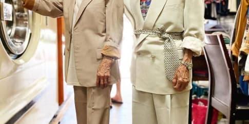 Viral, Kakek Nenek Modis Pemilik Laundry Di Taiwan