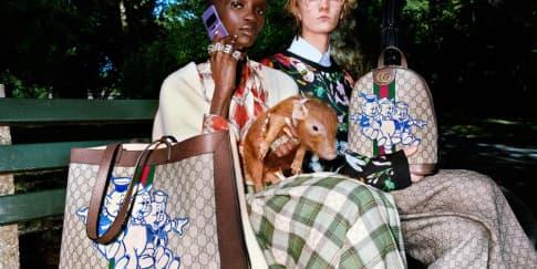 Kartun Babi Imut di Koleksi Spesial Imlek Gucci