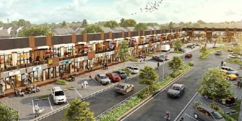 Kawasan Komersial Terbaru Green Ara Residence