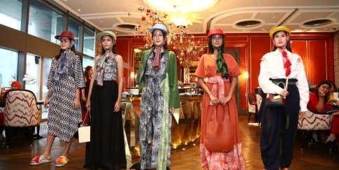 Kecantikan Nusantara di Koleksi Resort 'Neusa x Purana'