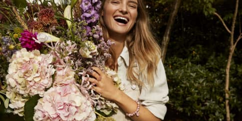 Keindahan Bunga Daisy Di Perhiasan 'Pandora Garden'