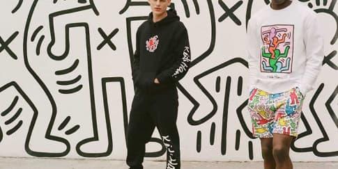 Koleksi H&M Kolaborasi Dengan Print Keith Haring