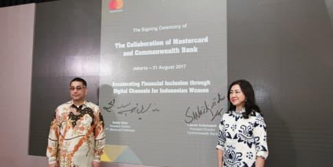 Kolaborasi Commonwealth Bank dan Mastercard