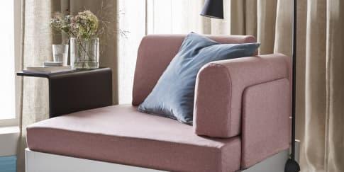 Kolaborasi IKEA dengan Tom Dixon, Sofa Modular Delaktig