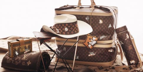 Kolaborasi Imut Louis Vuitton dan Grace Coddington