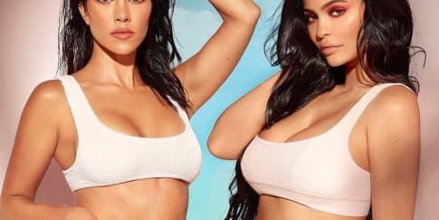 Kolaborasi Kylie Jenner Dan Kourtney Kardashian