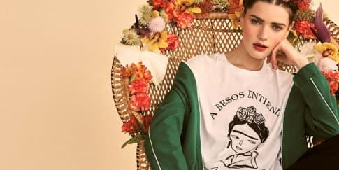 Kolaborasi Stradivarius Dan Frida Kahlo