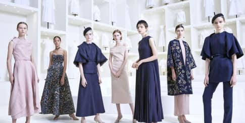 Koleksi Elegan Haute Couture Fall Winter 18/19 Dior