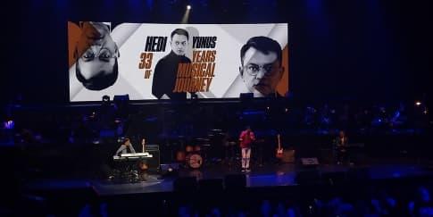 Konser 33th Perjalanan Karier Hedi Yunus Sukses Besar