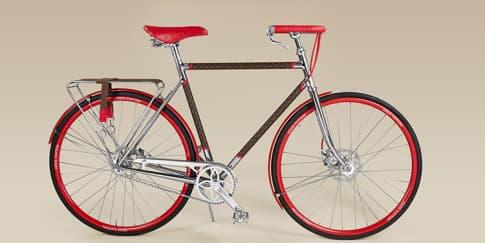 Kolaborasi Sepeda Louis Vuitton dan Maison Tamboite Paris