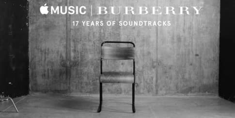 Lagu Soundtrack Burberry Tersedia Di Apple Music