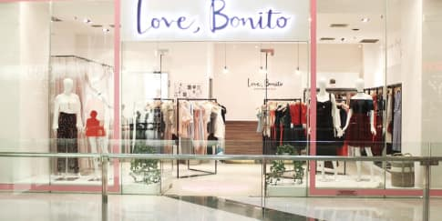 Love, Bonito Membuka Gerai Pop Up di Grand Indonesia