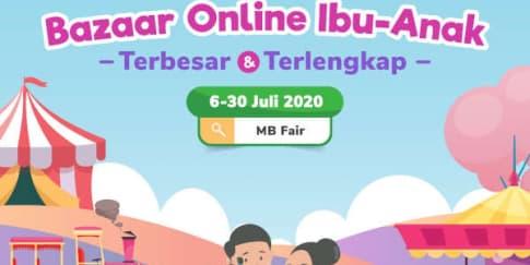 MB Fair 2020 Belanja di Rumah Bersama Tokopedia