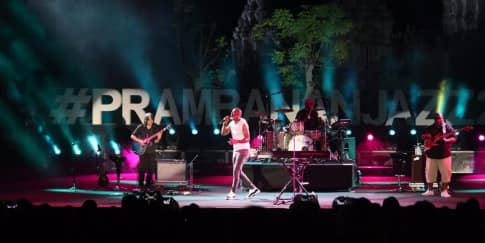 Momen Magis di Acara Musik Prambanan Jazz Festival 2019