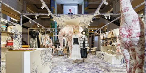 Nuansa Klasik di Butik Pop Up Dior di Plaza Indonesia