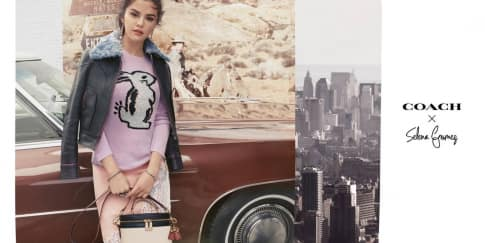 Nuansa 'Playful' di Koleksi Coach x Selena Gomez Ke-2