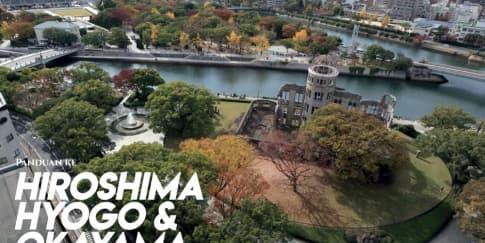 Perjalanan Her World Ke Hiroshima, Hyogo, Dan Okayama