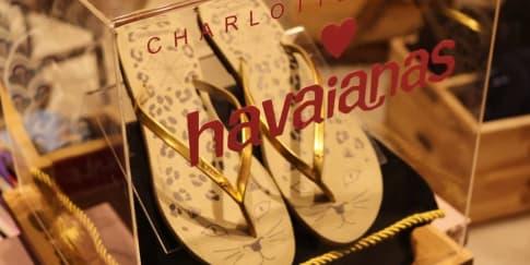 'Purrrfect10', Kolaborasi Charlotte Olympia - Havaianas
